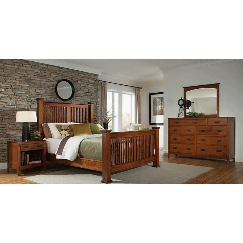 american craftsman bedroom collection heringhaus 11322 | american craftsman bedroom collection